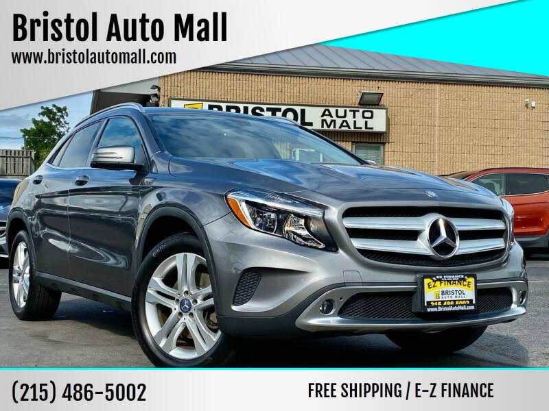2015 Mercedes-Benz GLA for sale at Bristol Auto Mall in Levittown PA