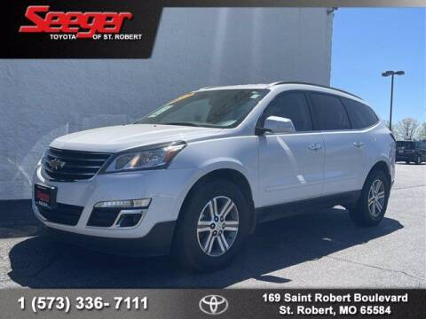 2016 Chevrolet Traverse for sale at SEEGER TOYOTA OF ST ROBERT in St Robert MO