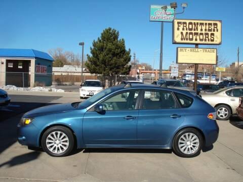 2008 Subaru Impreza for sale at Frontier Motors Ltd in Colorado Springs CO