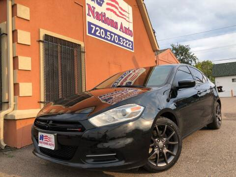 2013 Dodge Dart for sale at Nations Auto Inc. II in Denver CO