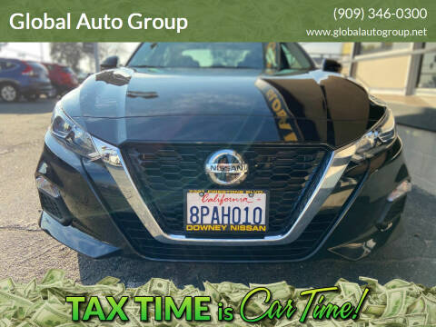 2020 Nissan Altima for sale at Global Auto Group in Fontana CA