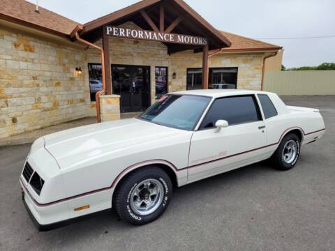 1985 Chevrolet Monte Carlo for sale at Performance Motors Killeen Second Chance in Killeen TX