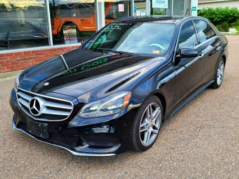 2014 Mercedes-Benz E-Class for sale at Green Cars Vermont in Montpelier VT