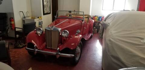 1952 MG TD for sale at Classic Motor Sports in Merrimack NH