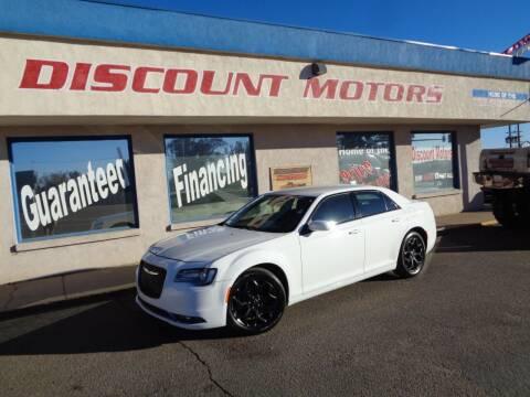 2019 Chrysler 300 for sale at Discount Motors in Pueblo CO