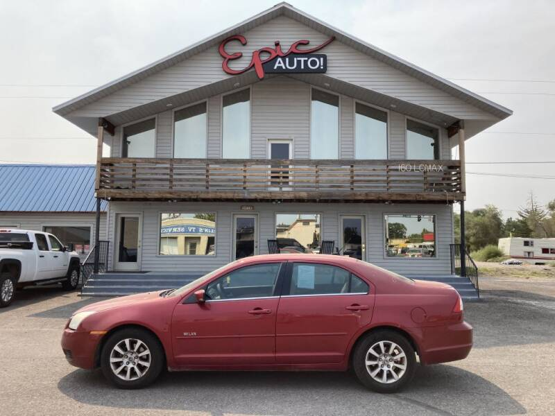 2007 Mercury Milan for sale at Epic Auto in Idaho Falls ID