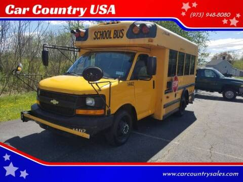 2009 Chevrolet Express Cutaway for sale at Car Country USA in Augusta NJ
