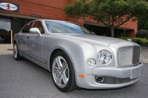 2014 Bentley Mulsanne for sale at Team One Motorcars, LLC in Marietta GA