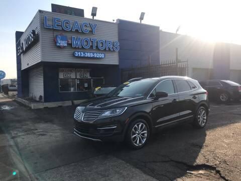2015 Lincoln MKC for sale at Legacy Motors in Detroit MI
