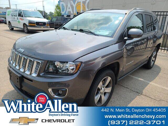 2017 Jeep Compass for sale at WHITE-ALLEN CHEVROLET in Dayton OH