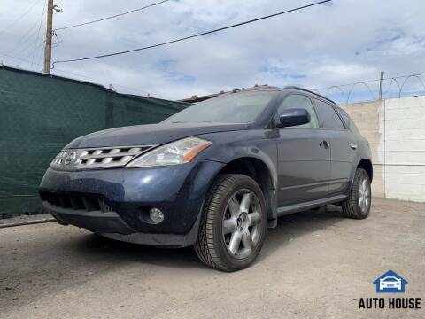 2005 Nissan Murano for sale at AUTO HOUSE TEMPE in Tempe AZ