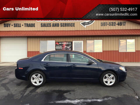 2011 Chevrolet Malibu for sale at Cars Unlimited in Marshall MN
