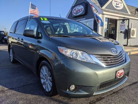 2012 Toyota Sienna for sale at Cape Cod Carz in Hyannis MA