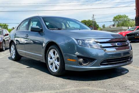2012 Ford Fusion for sale at Knighton's Auto Services INC in Albany NY