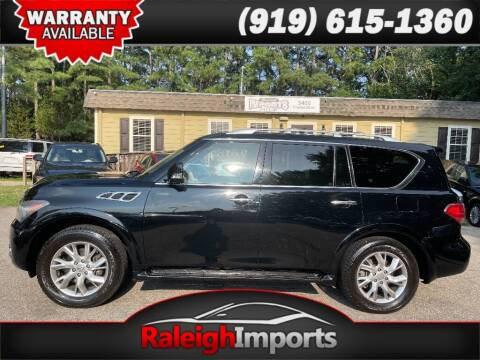 2012 Infiniti QX56 for sale at Raleigh Imports in Raleigh NC