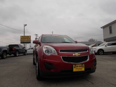 2015 Chevrolet Equinox for sale at Kevin Harper Auto Sales in Mount Zion IL