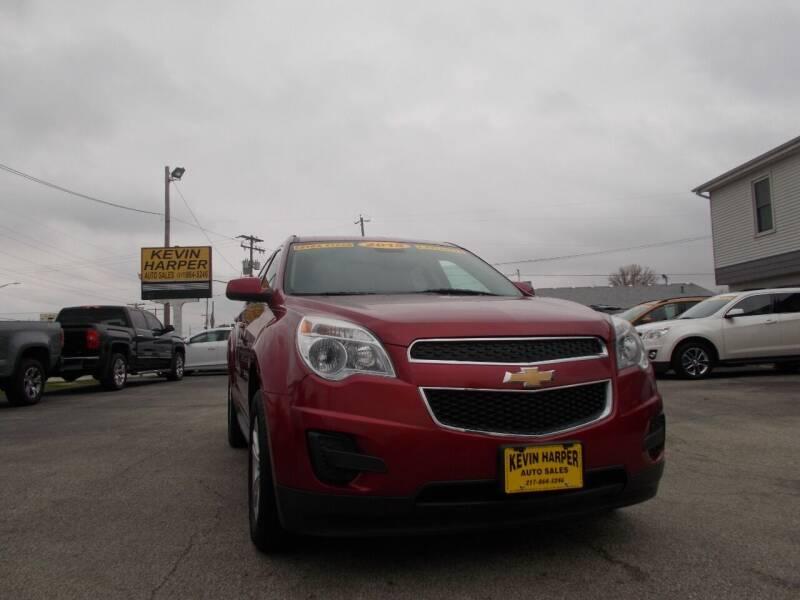 2015 Chevrolet Equinox for sale at Kevin Harper Auto Sales in Mount Zion IL