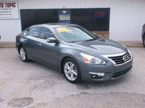 2015 Nissan Altima for sale at AUTO TOPIC in Gainesville TX