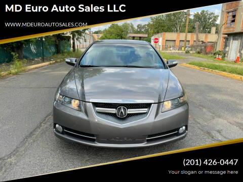 2007 Acura TL for sale at MD Euro Auto Sales LLC in Hasbrouck Heights NJ
