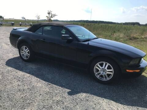 2007 Ford Mustang for sale at Shoreline Auto Sales LLC in Berlin MD