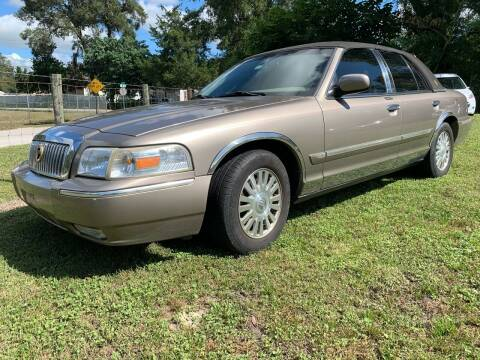 2006 Mercury Grand Marquis for sale at Gator Truck Center of Ocala in Ocala FL