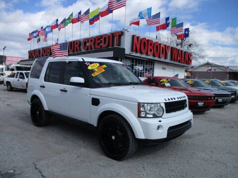 2013 Land Rover LR4 for sale at Giant Auto Mart 2 in Houston TX