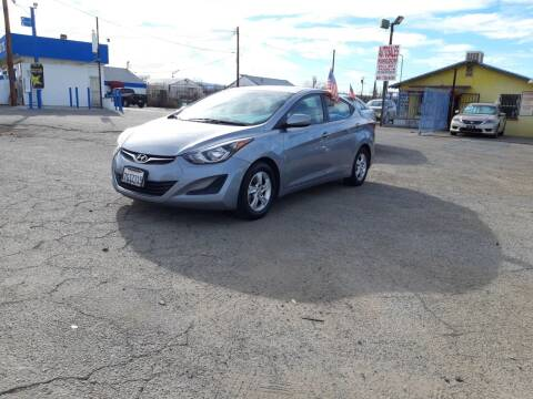 2015 Hyundai Elantra for sale at Autosales Kingdom in Lancaster CA