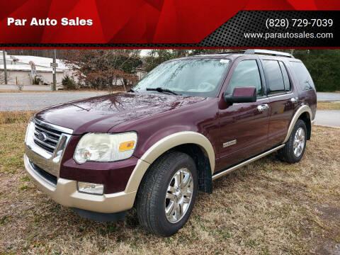2007 Ford Explorer for sale at Par Auto Sales in Lenoir NC