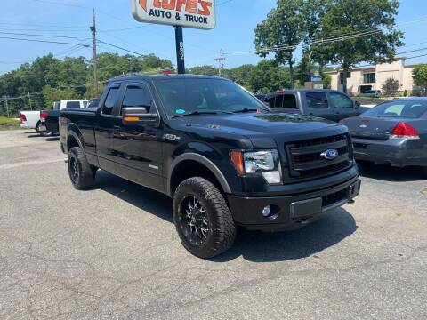2014 Ford F-150 for sale at FIORE'S AUTO & TRUCK SALES in Shrewsbury MA