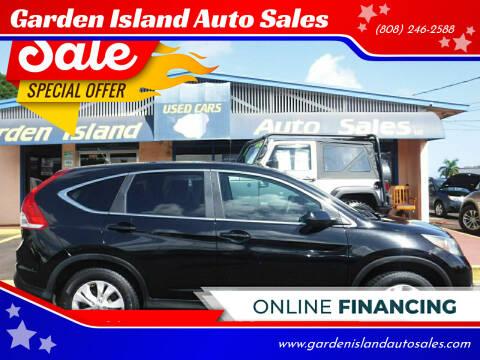 2014 Honda CR-V for sale at Garden Island Auto Sales in Lihue HI