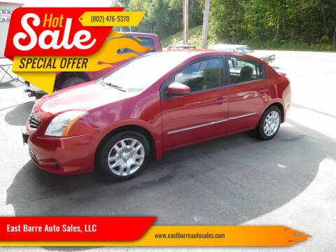 2012 Nissan Sentra for sale at East Barre Auto Sales, LLC in East Barre VT