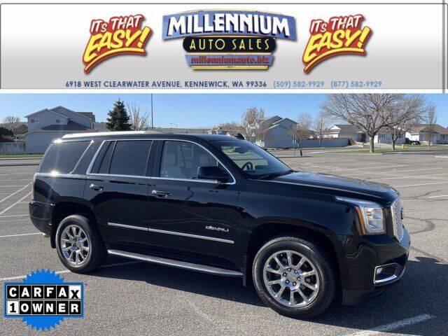 2017 GMC Yukon for sale at Millennium Auto Sales in Kennewick WA