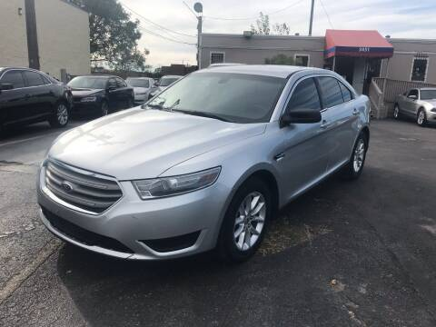 2013 Ford Taurus for sale at Saipan Auto Sales in Houston TX