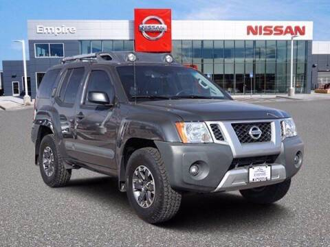 2015 Nissan Xterra for sale at EMPIRE LAKEWOOD NISSAN in Lakewood CO