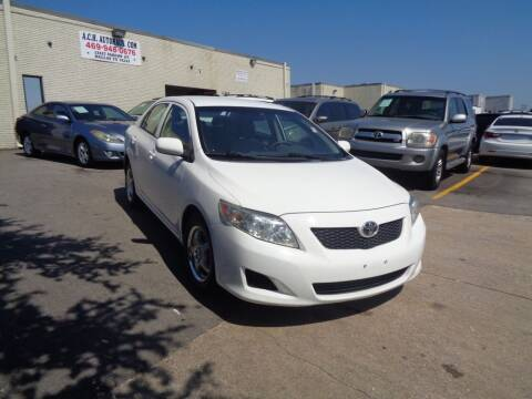 2009 Toyota Corolla for sale at ACH AutoHaus in Dallas TX