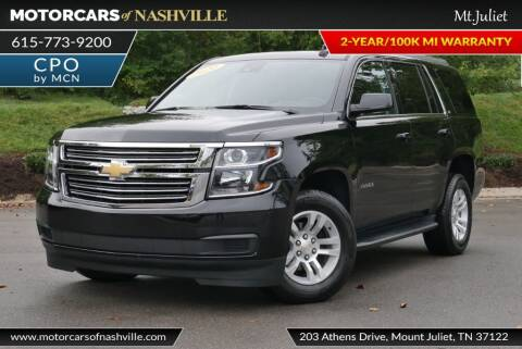 2020 Chevrolet Tahoe for sale at MotorCars of Nashville in Mount Juliet TN