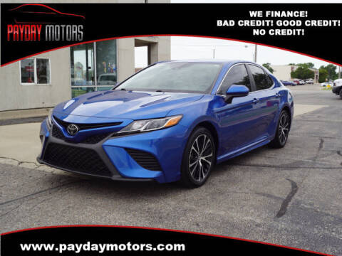 2019 Toyota Camry for sale at Payday Motors in Wichita KS
