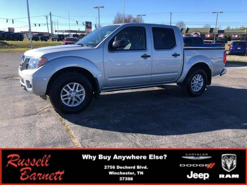 2019 Nissan Frontier for sale at Russell Barnett Chrysler Dodge Jeep Ram in Winchester TN