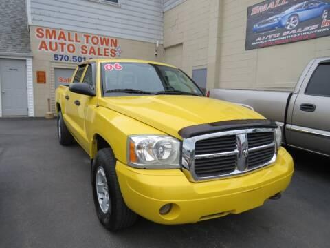 2006 Dodge Dakota for sale at Small Town Auto Sales in Hazleton PA