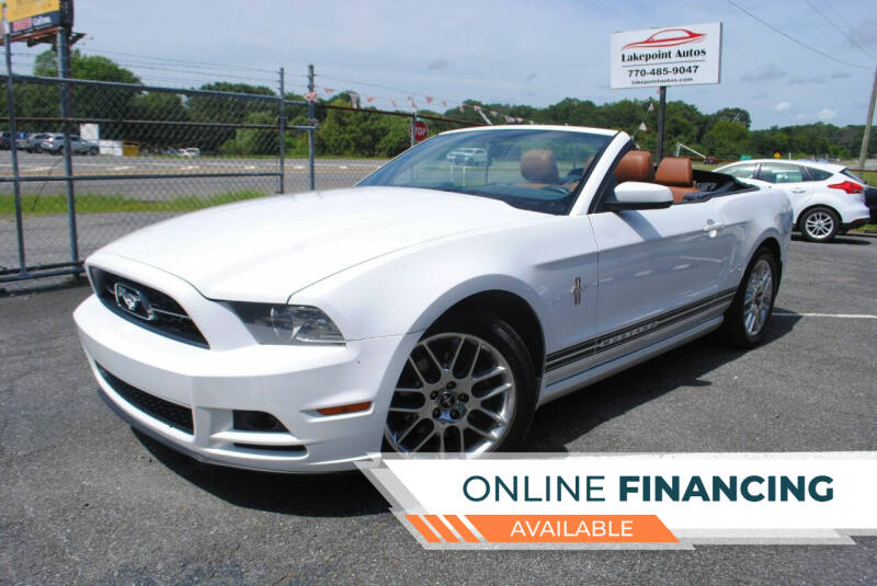 2014 Ford Mustang for sale at Lakepoint Autos in Cartersville GA