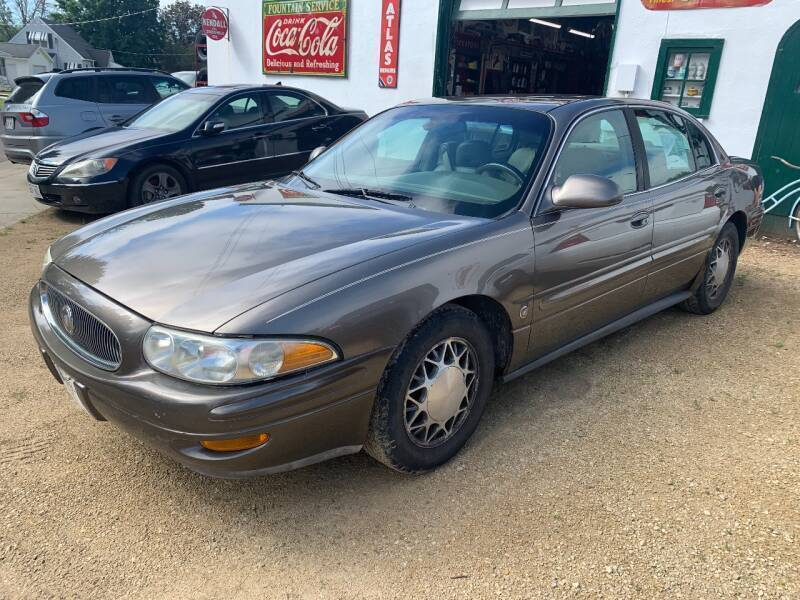 2002 Buick LeSabre for sale at Nelson's Straightline Auto - 23923 Burrows Rd in Independence WI
