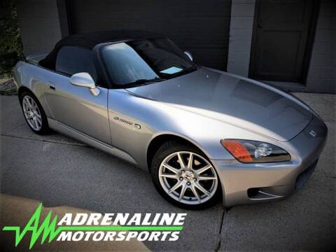 2000 Honda S2000 for sale at Adrenaline Motorsports Inc. in Saginaw MI