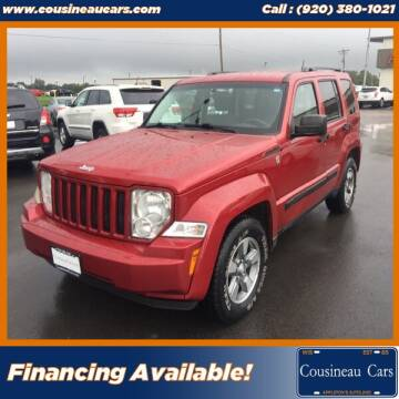 2008 Jeep Liberty for sale at CousineauCars.com in Appleton WI