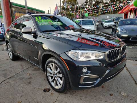2017 BMW X6 for sale at LIBERTY AUTOLAND INC - LIBERTY AUTOLAND II INC in Queens Villiage NY