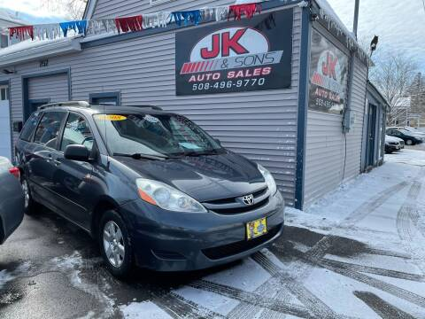 2008 Toyota Sienna for sale at JK & Sons Auto Sales in Westport MA
