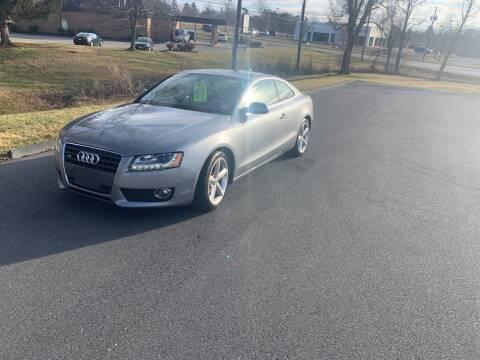 2010 Audi A5 for sale at Augusta Auto Sales in Waynesboro VA