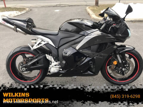 2009 Honda CBR600RR for sale at WILKINS MOTORSPORTS in Brewster NY