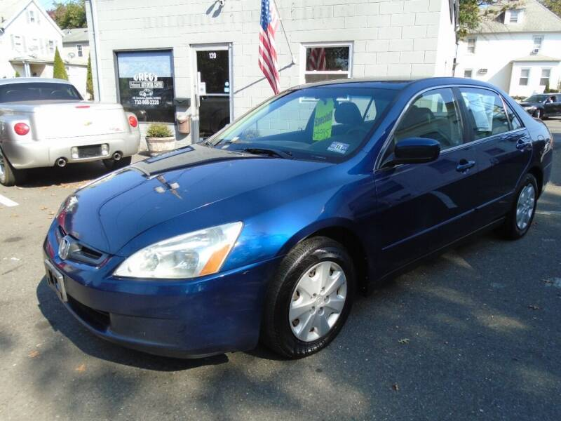 2003 Honda Accord for sale at Greg's Auto Sales in Dunellen NJ