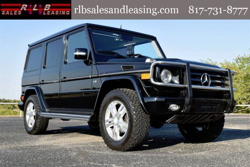 2009 Mercedes-Benz G-Class for sale at RLB Sales and Leasing in Fort Worth TX
