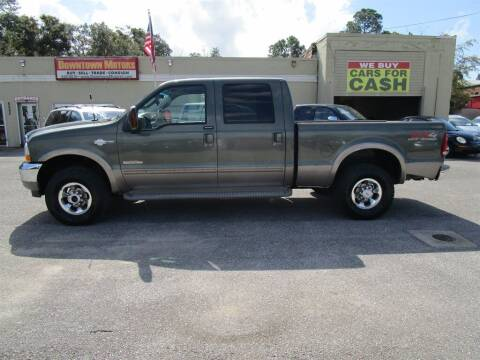 2004 Ford F-250 Super Duty for sale at Downtown Motors in Milton FL